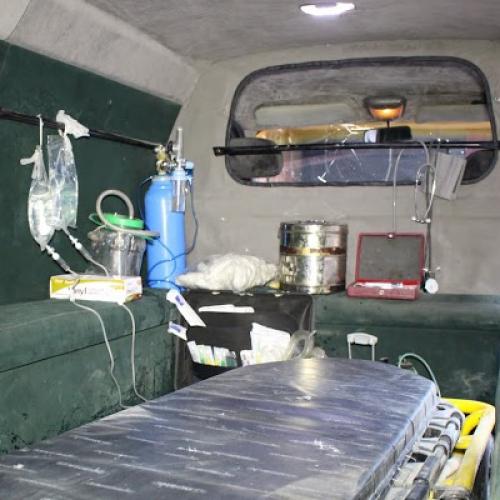 مشروع سيارة اسعاف