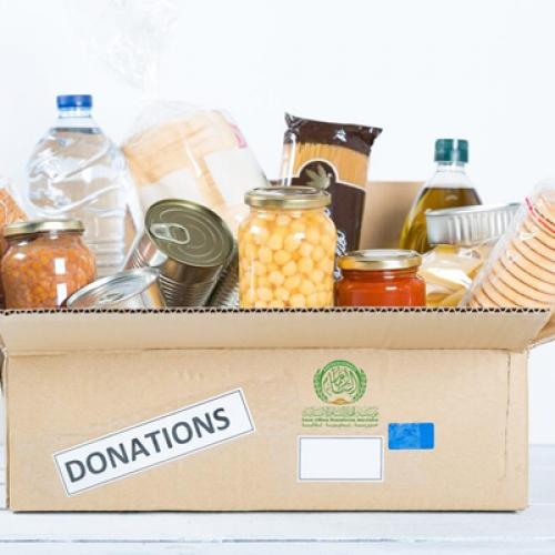 سلة غذائية شتوية - حملة معًا لشتاء دافئ 5